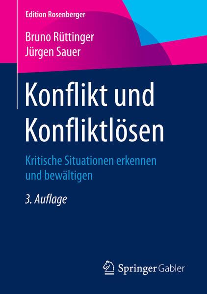 Konflikt und Konfliktlösen von Bruno Rüttinger PDF Download
