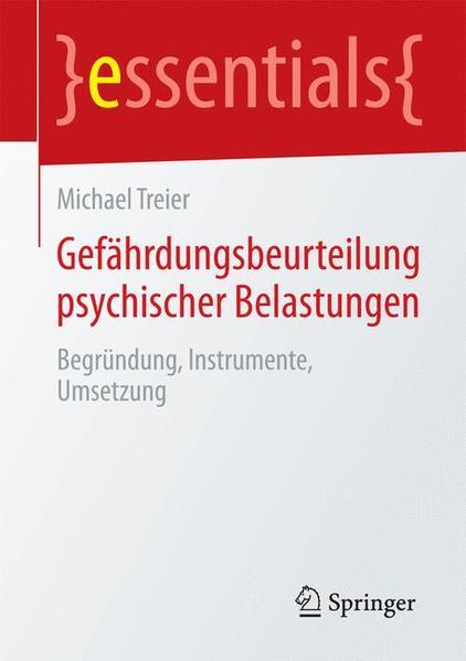 Gefährdungsbeurteilung psychischer Belastungen - Coverbild