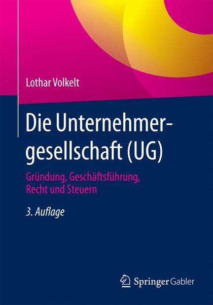 Die Unternehmergesellschaft (UG) - Coverbild