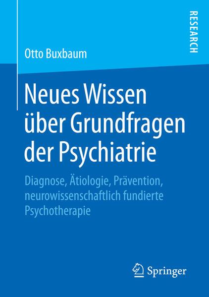 Neues Wissen über Grundfragen der Psychiatrie - Coverbild