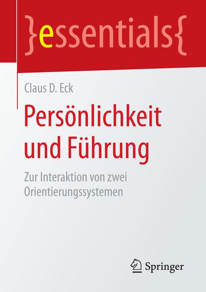 Persönlichkeit und Führung - Coverbild