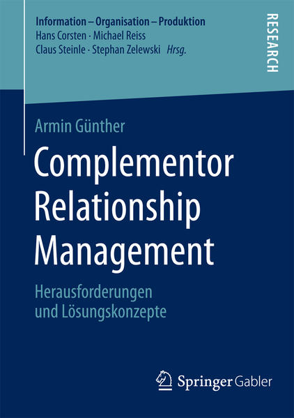 Epub Download Complementor Relationship Management
