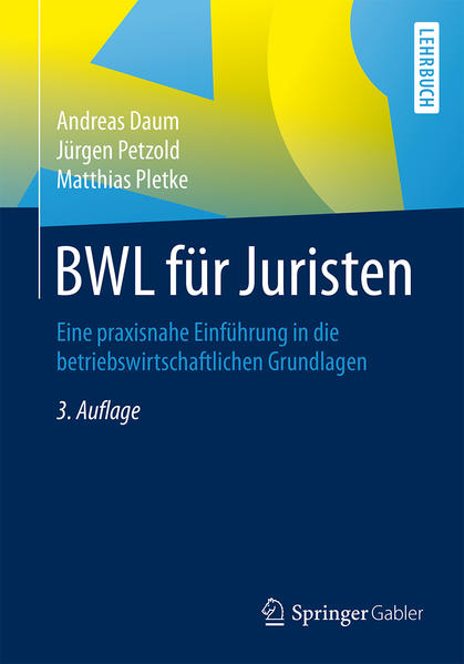 BWL für Juristen - Coverbild