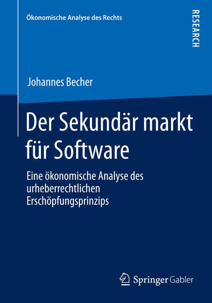 Der Sekundärmarkt für Software - Coverbild