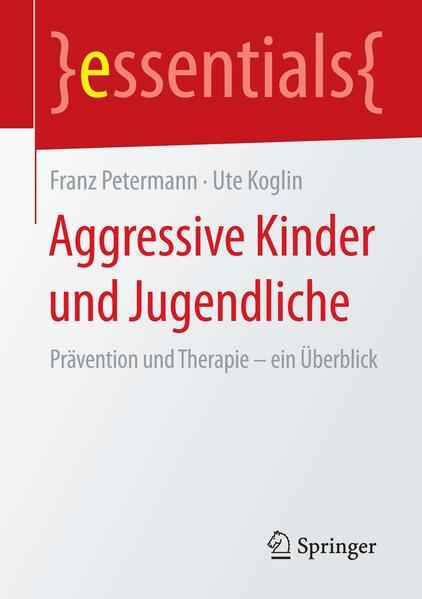 Aggressive Kinder und Jugendliche - Coverbild