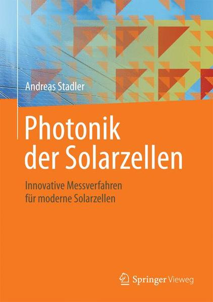 Photonik der Solarzellen - Coverbild