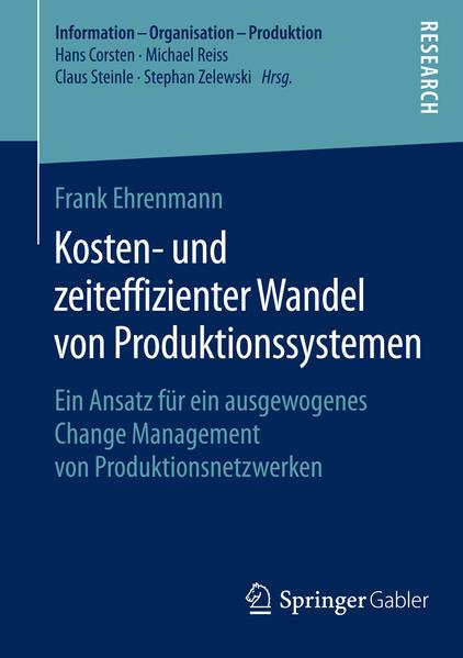 Kosten- und zeiteffizienter Wandel von Produktionssystemen - Coverbild