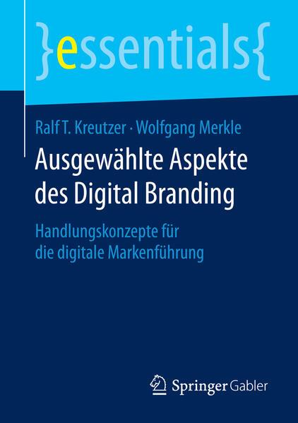 Ausgewählte Aspekte des Digital Branding - Coverbild
