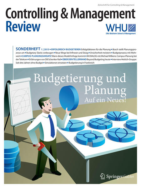 Controlling & Management Review Sonderheft 1-2015 - Coverbild