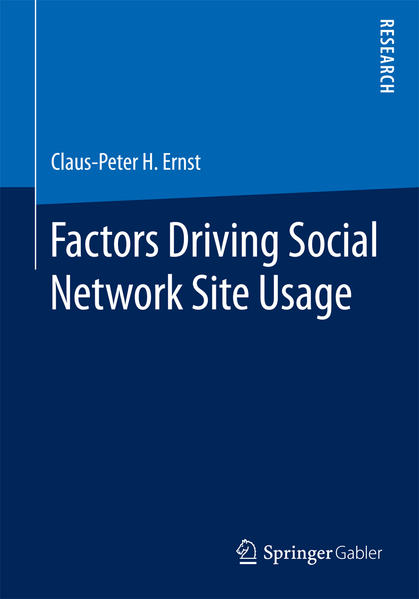 Factors Driving Social Network Site Usage - Coverbild