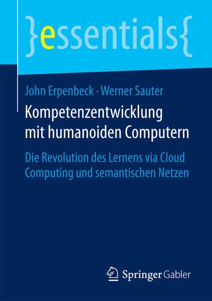 Kompetenzentwicklung mit humanoiden Computern - Coverbild