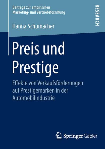 Preis und Prestige - Coverbild