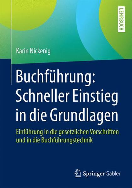 Buchführung: Schneller Einstieg in die Grundlagen - Coverbild
