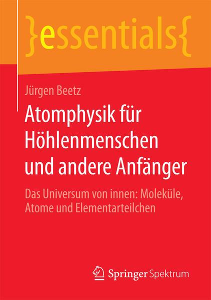 Atomphysik für Höhlenmenschen und andere Anfänger - Coverbild