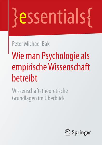 Wie man Psychologie als empirische Wissenschaft betreibt - Coverbild