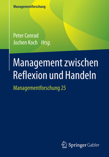 Management zwischen Reflexion und Handeln - Coverbild