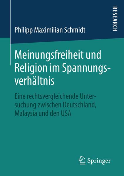 Meinungsfreiheit und Religion im Spannungsverhältnis - Coverbild