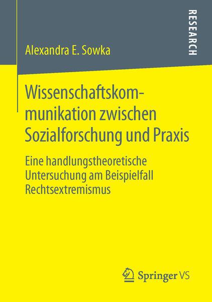 Wissenschaftskommunikation zwischen Sozialforschung und Praxis - Coverbild
