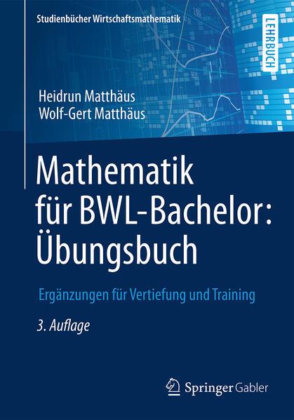 Mathematik für BWL-Bachelor: Übungsbuch - Coverbild