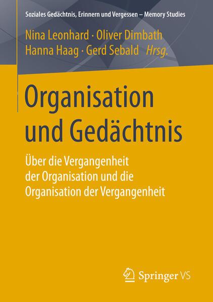 Organisation und Gedächtnis - Coverbild
