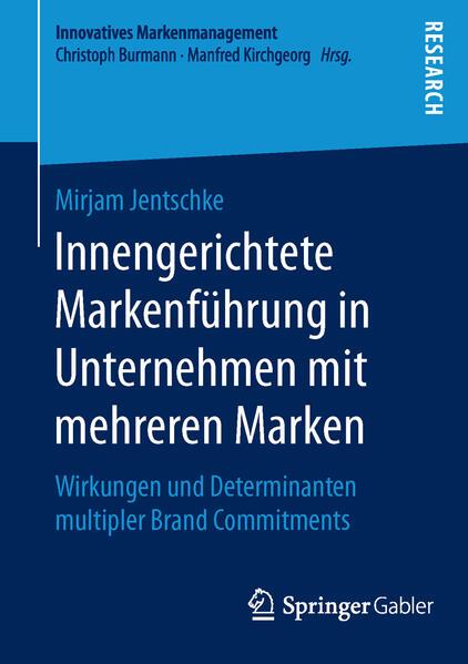Innengerichtete Markenführung in Unternehmen mit mehreren Marken - Coverbild