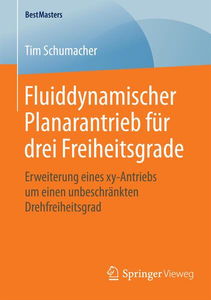 Fluiddynamischer Planarantrieb für drei Freiheitsgrade - Coverbild