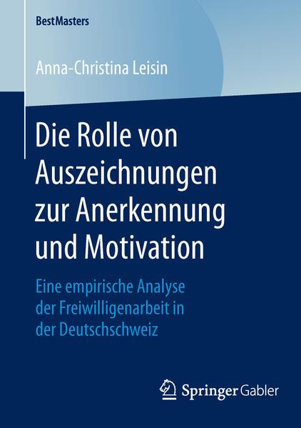 Die Rolle von Auszeichnungen zur Anerkennung und Motivation - Coverbild