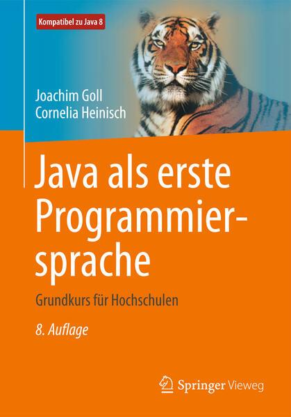 Java als erste Programmiersprache - Coverbild