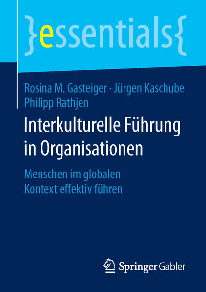Interkulturelle Führung in Organisationen - Coverbild