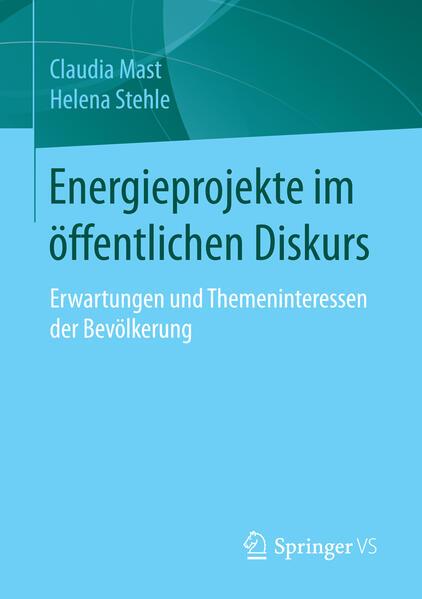 Energieprojekte im öffentlichen Diskurs - Coverbild