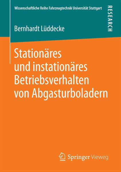 Stationäres und instationäres Betriebsverhalten von Abgasturboladern - Coverbild