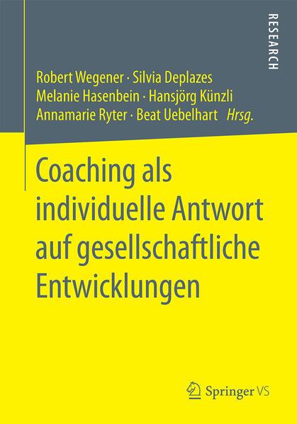Coaching als individuelle Antwort auf gesellschaftliche Entwicklungen - Coverbild