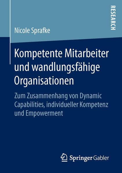 Kompetente Mitarbeiter und wandlungsfähige Organisationen - Coverbild