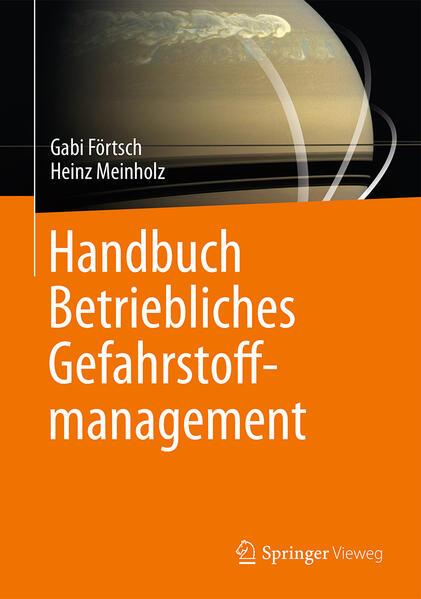 Handbuch Betriebliches Gefahrstoffmanagement - Coverbild