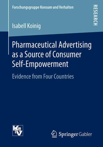 Pharmaceutical Advertising as a Source of Consumer Self-Empowerment - Coverbild