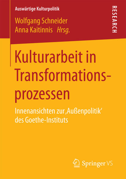 Kulturarbeit in Transformationsprozessen - Coverbild