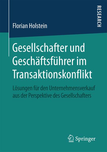 Gesellschafter und Geschäftsführer im Transaktionskonflikt - Coverbild
