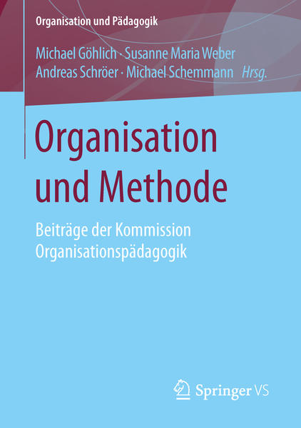 Organisation und Methode - Coverbild