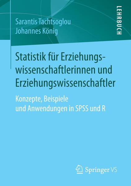 Statistik für Erziehungswissenschaftlerinnen und Erziehungswissenschaftler - Coverbild