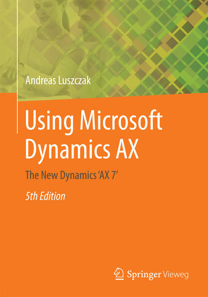 Using Microsoft Dynamics AX - Coverbild