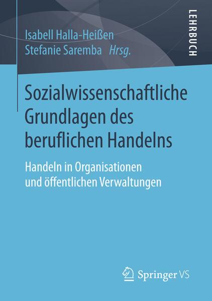 Sozialwissenschaftliche Grundlagen des beruflichen Handelns - Coverbild