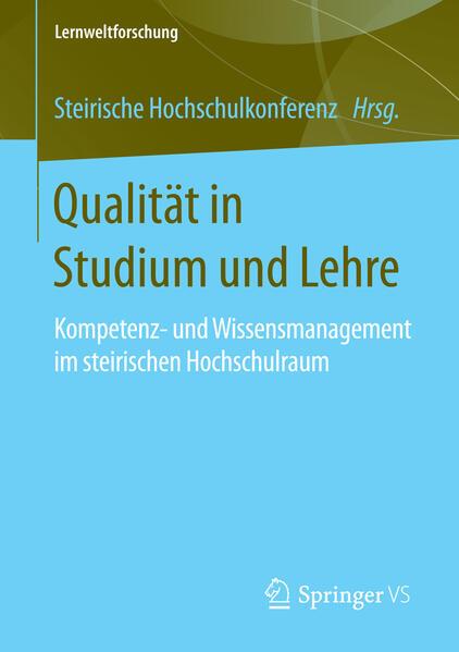 Qualität in Studium und Lehre - Coverbild