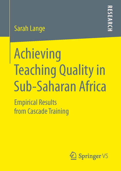 Achieving Teaching Quality in Sub-Saharan Africa - Coverbild