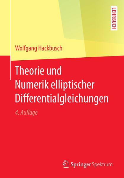 Theorie und Numerik elliptischer Differentialgleichungen - Coverbild