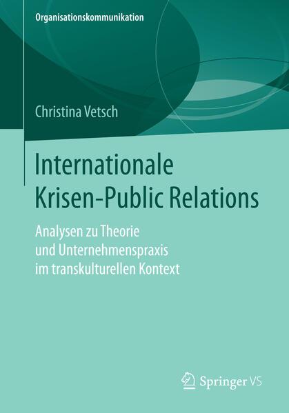 Internationale Krisen-Public Relations - Coverbild