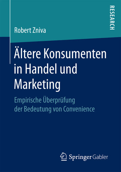 Ältere Konsumenten in Handel und Marketing - Coverbild