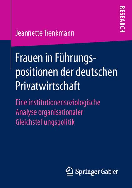 Frauen in Führungspositionen der deutschen Privatwirtschaft - Coverbild