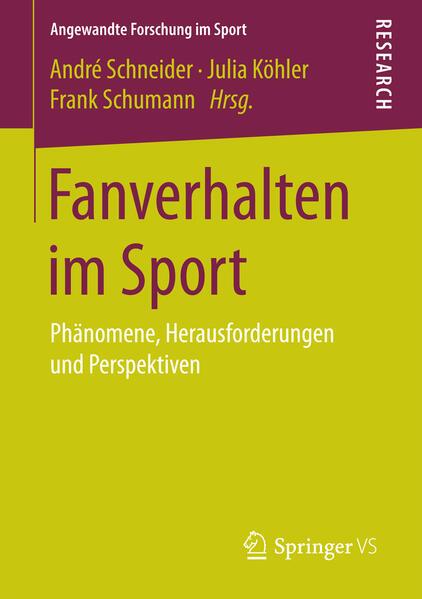 Fanverhalten im Sport - Coverbild