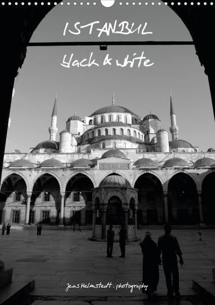 Istanbul - black & white (Poster Book DIN A4 Portrait) - Coverbild