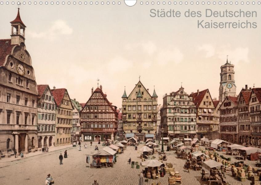 Städte des Deutschen Kaiserreichs  (Posterbuch DIN A3 quer) - Coverbild